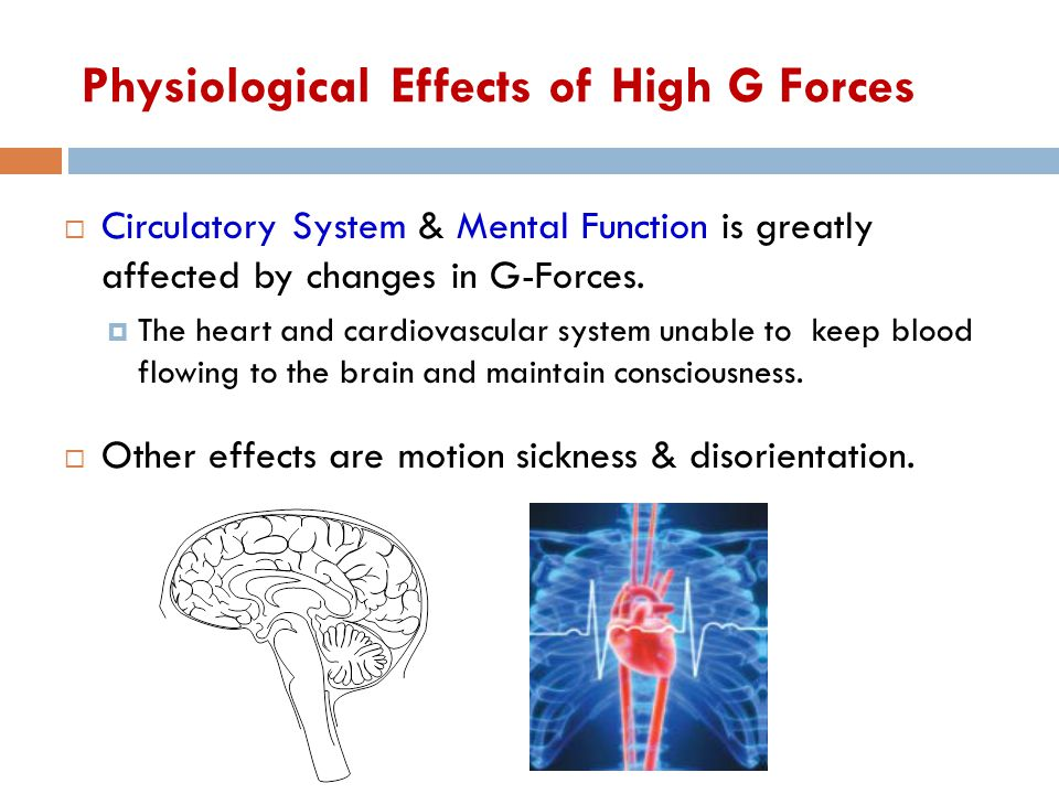 Physiological Effects of High G Forces