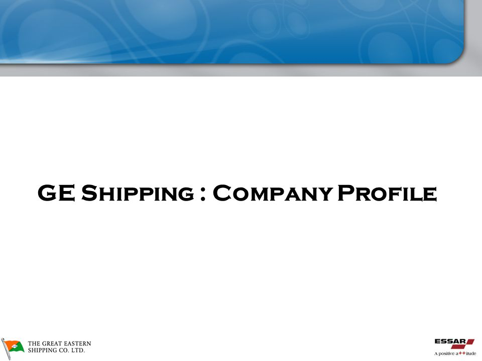 Great Eastern Shipping Corp