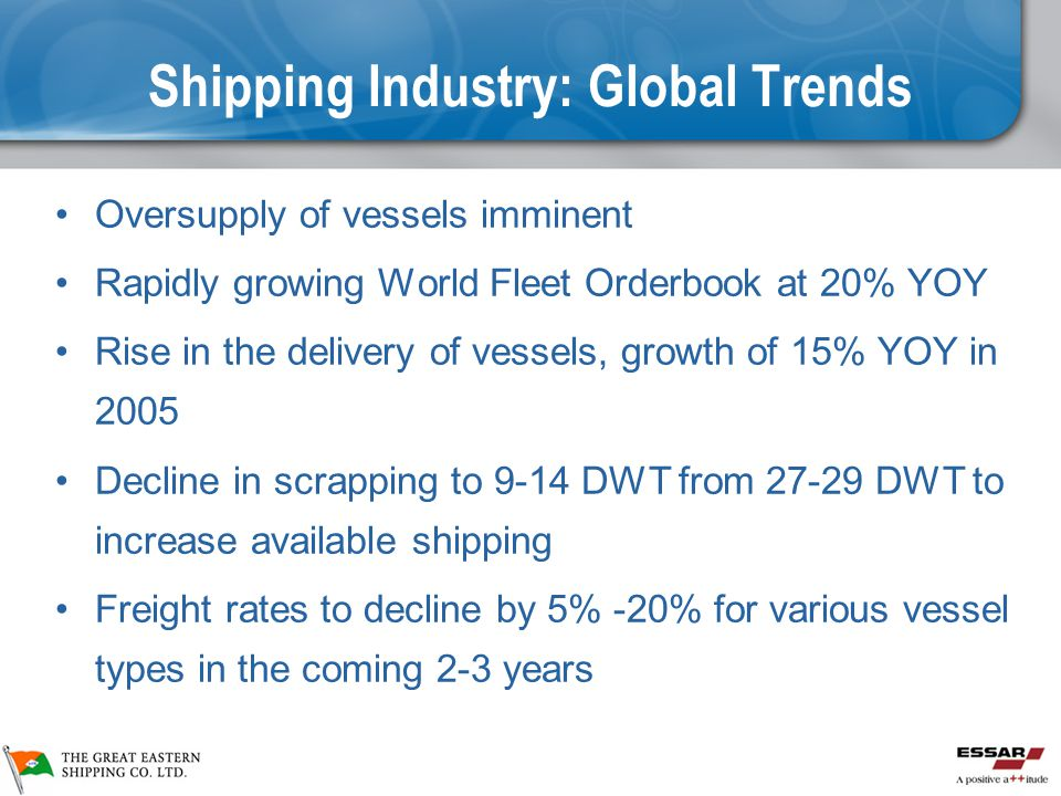 Shipping Industry: Global Trends