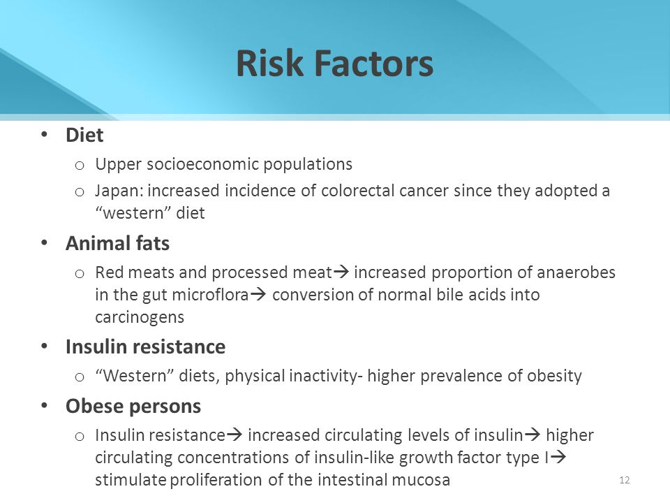 Risk Factors Diet Animal fats Insulin resistance Obese persons