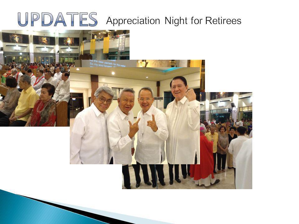 Appreciation Night for Retirees
