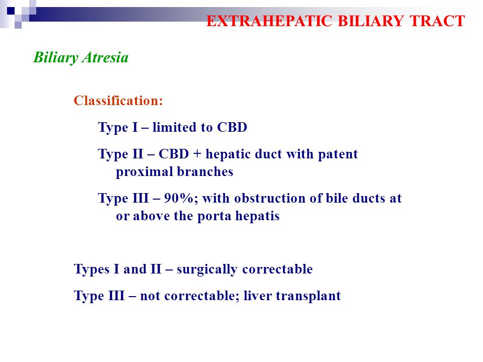 EXTRAHEPATIC BILIARY TRACT