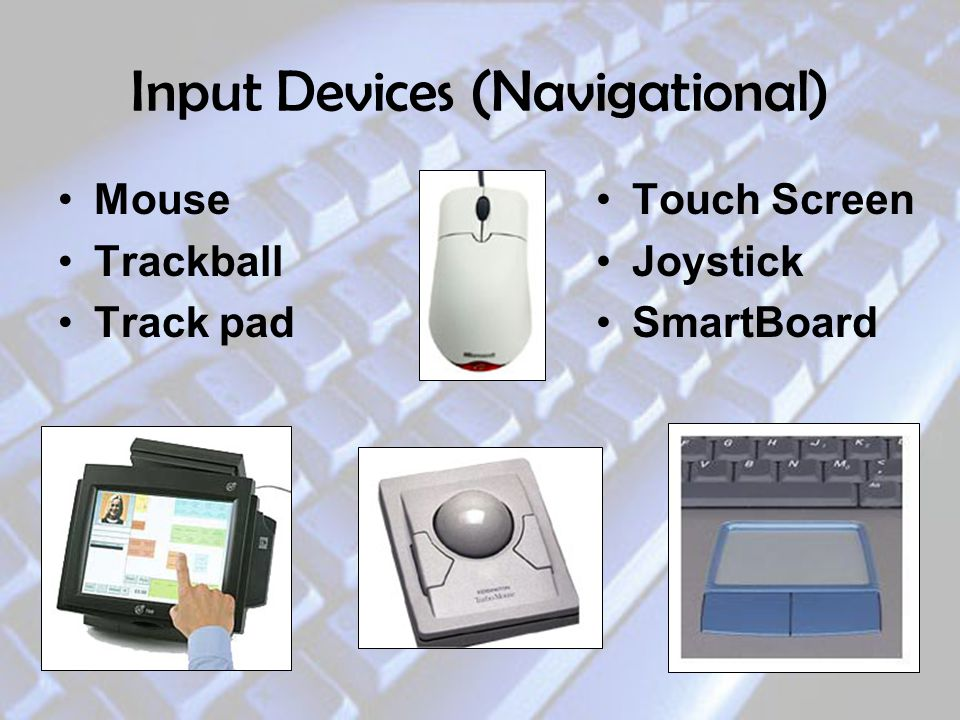 Input Devices (Navigational)
