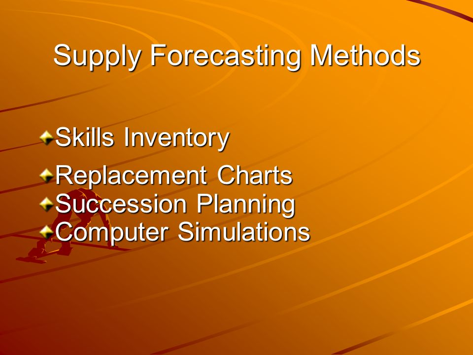 Supply Forecasting Methods