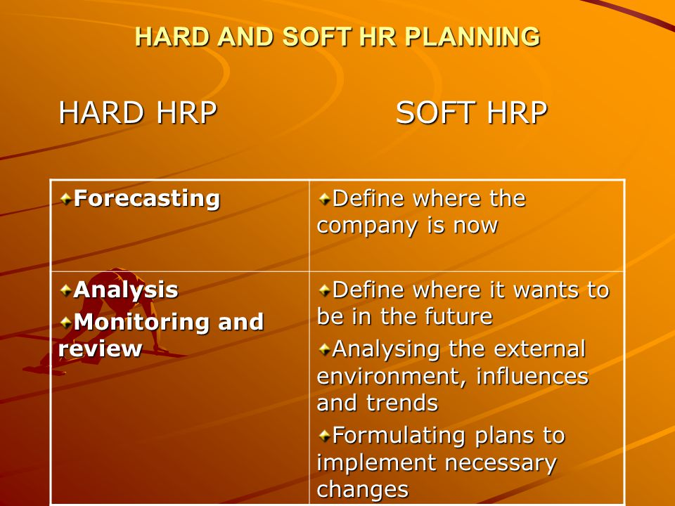 HARD AND SOFT HR PLANNING