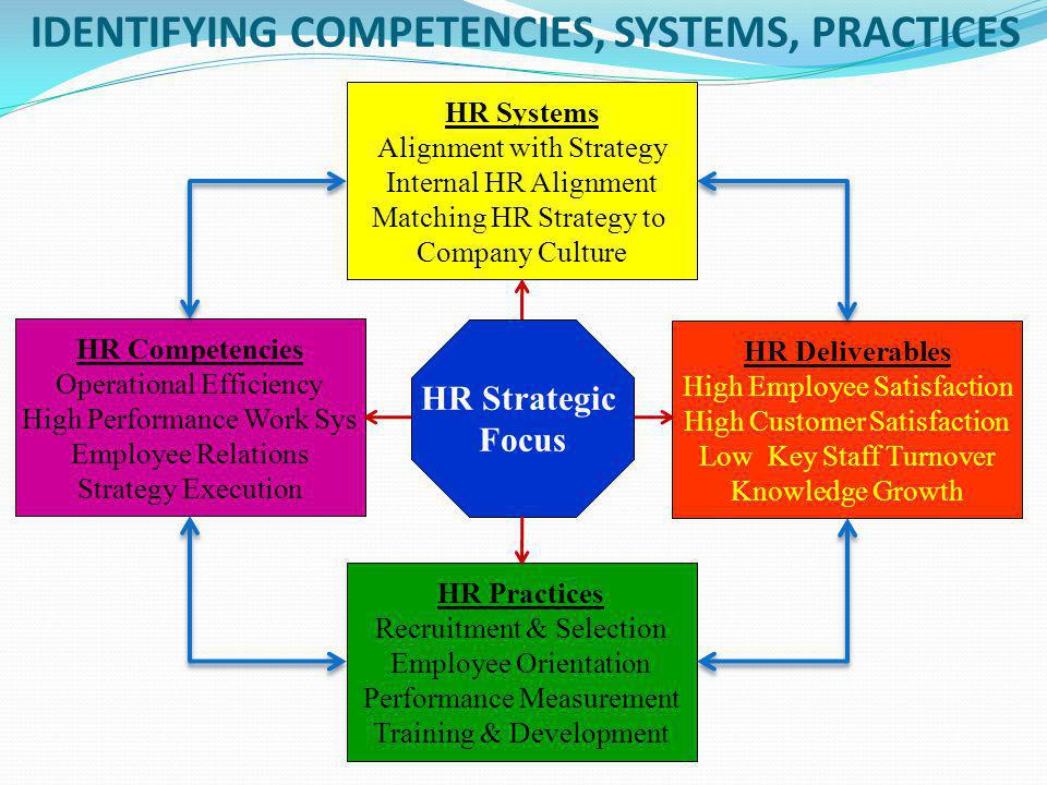 IDENTIFYING COMPETENCIES, SYSTEMS, PRACTICES