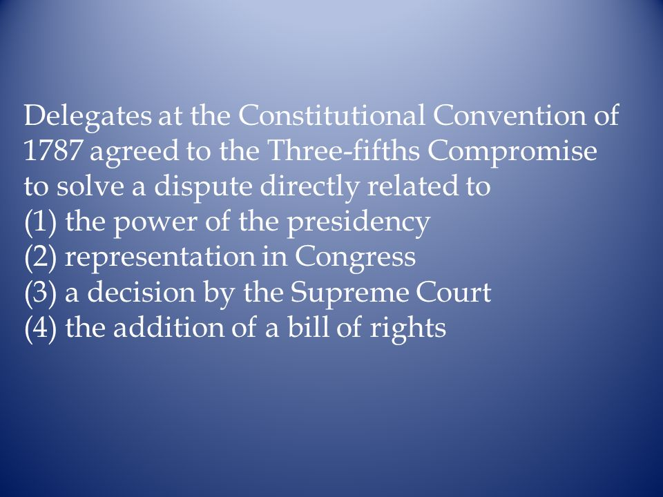 Delegates at the Constitutional Convention of