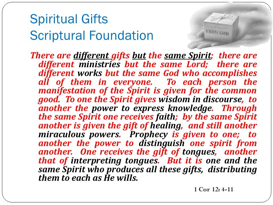 Gifts fruits of the holy spirit ppt video online download spiritual gifts scriptural foundation negle