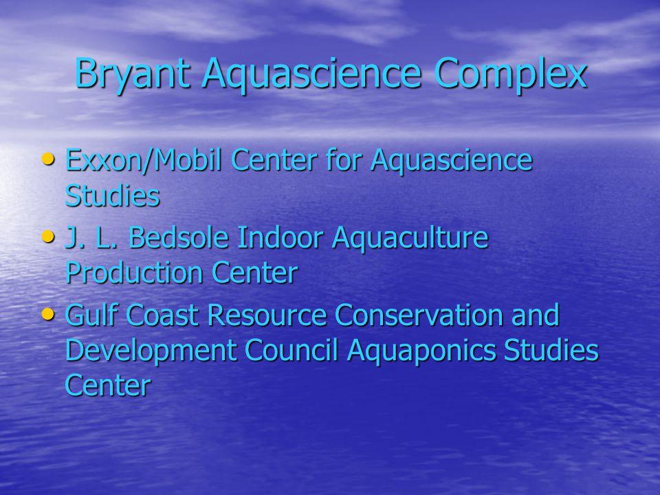 Bryant Aquascience Complex