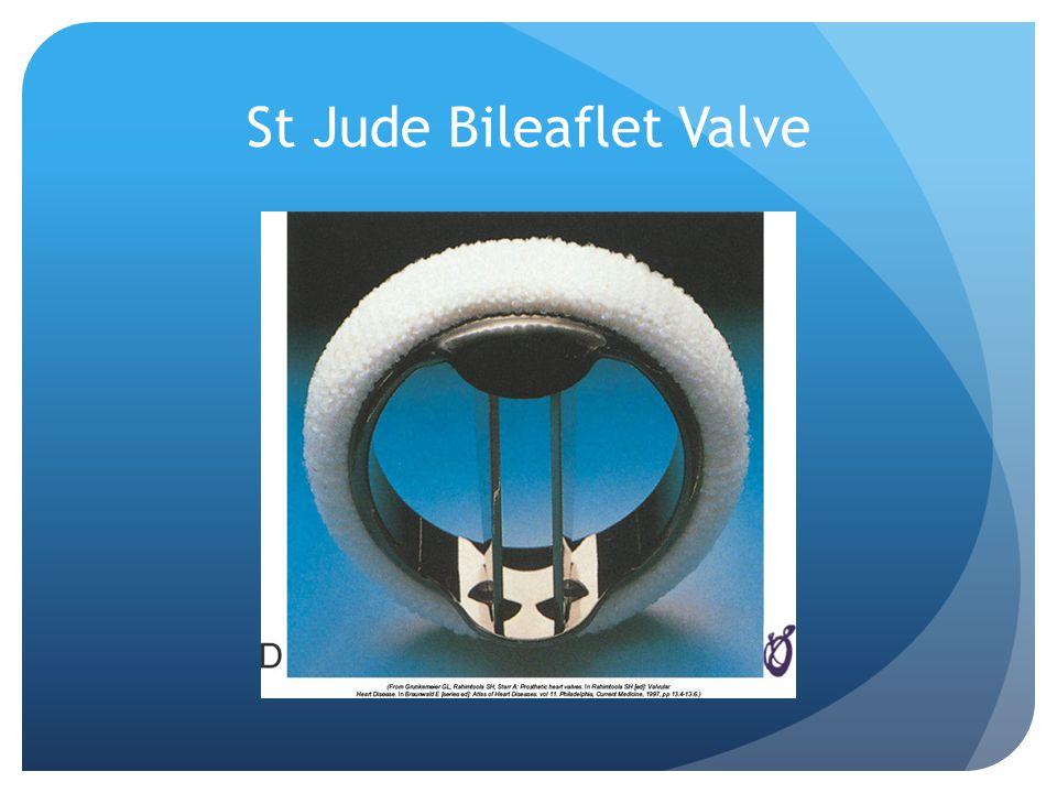 St Jude Bileaflet Valve