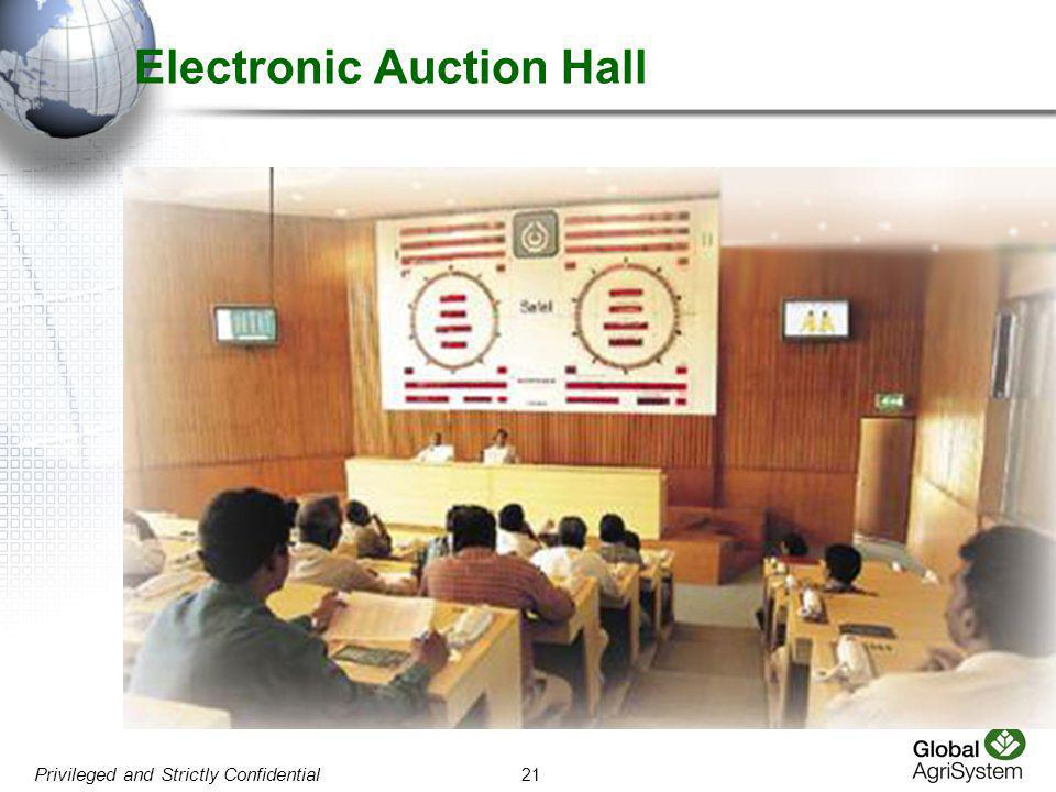 Electronic Auction Hall