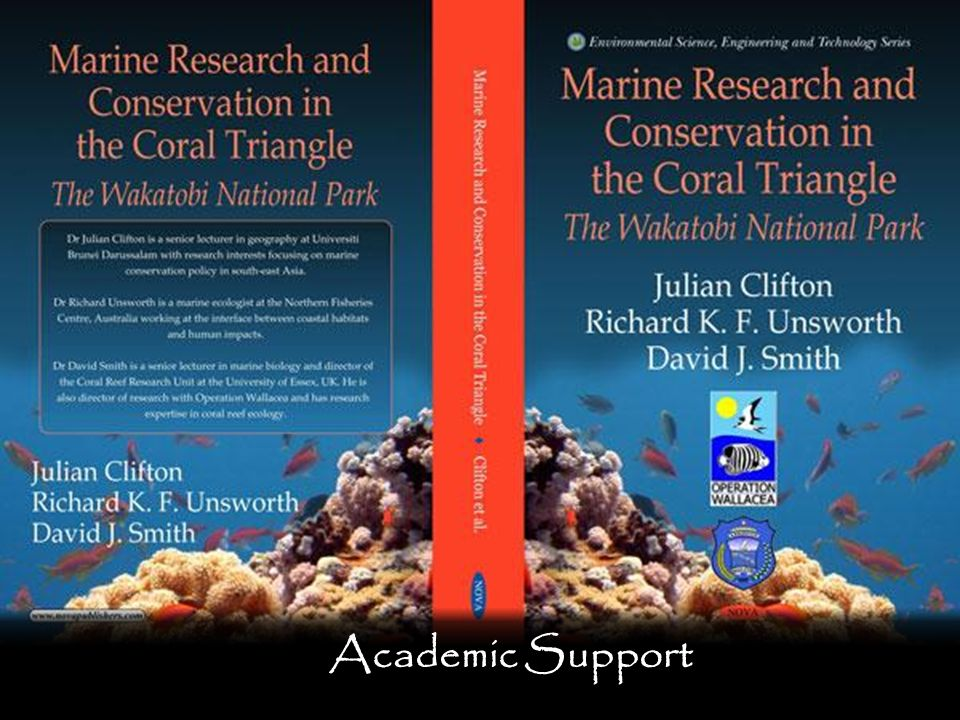 The advantage of doing a thesis with Opwall is the access that is available to the large number of academics working in the field at our research sites. These academics are very publication focussed as illustrated at the Indonesian marine site where so many publications have been achieved just over the last 6 survey season s that a book was recently published summarising all this information. There are 170+ academics, additional PhD students and numerous skilled field biologists working at the various sites so you get the support needed to get an amazing thesis. Indeed students from Oxford, Princeton, Manchester, Toronto, Essex and other universities have won awards for doing the best thesis projects in their departments at one of the Opwall sites.