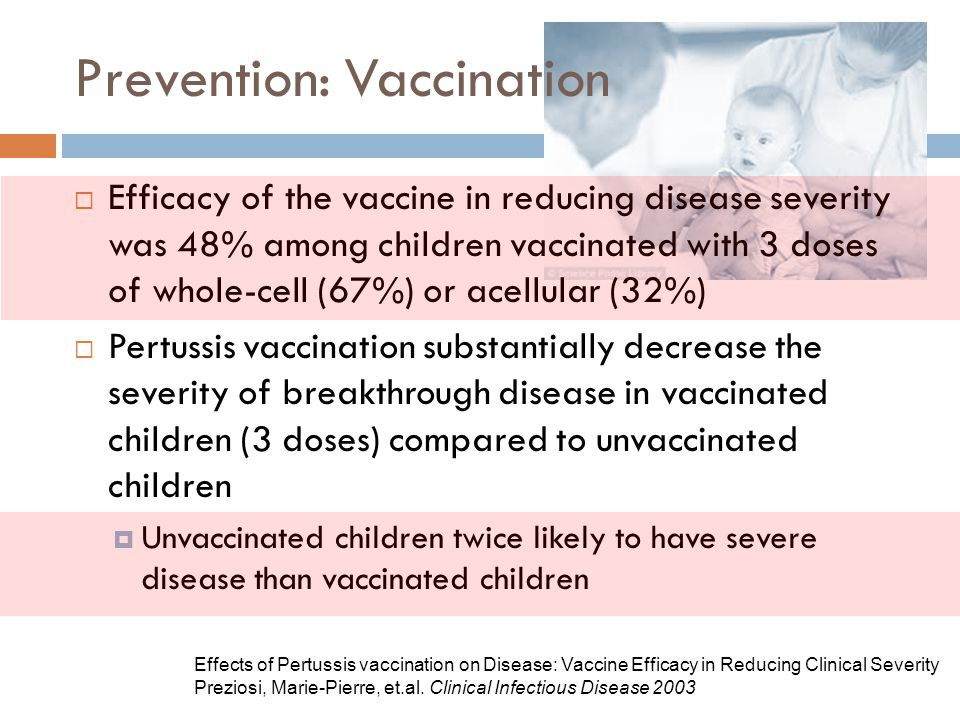 Prevention: Vaccination