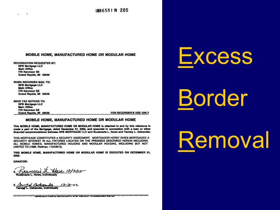 Excess Border Removal