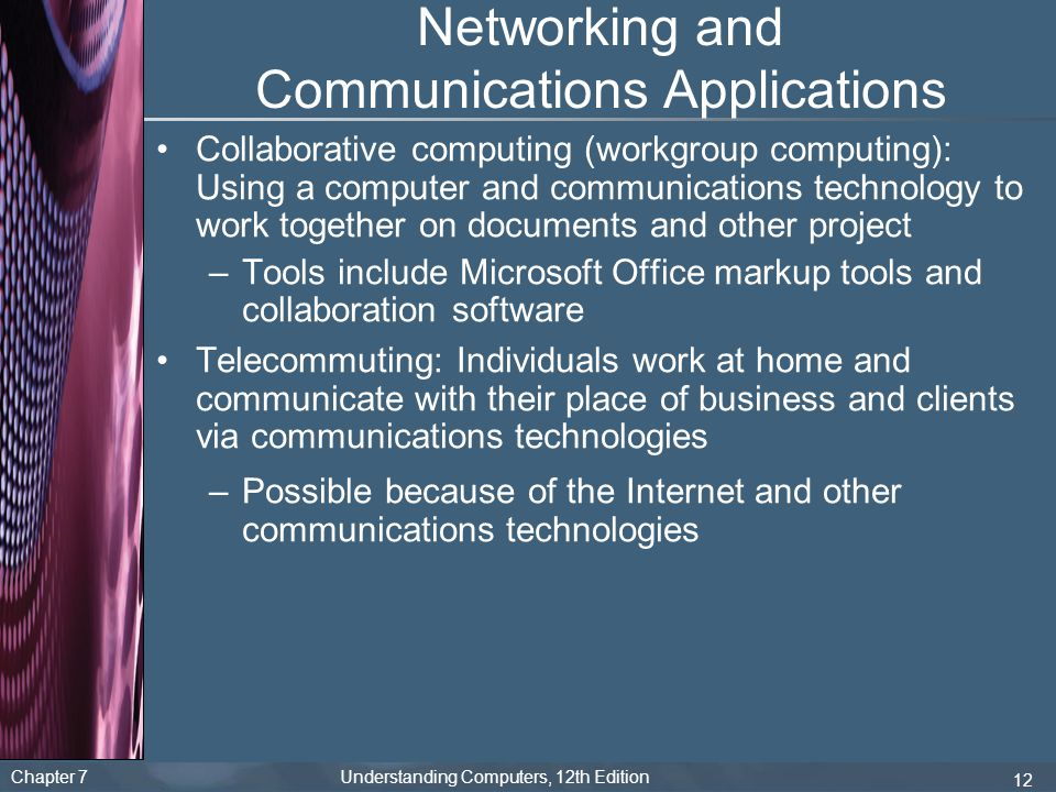Networking and Communications Applications