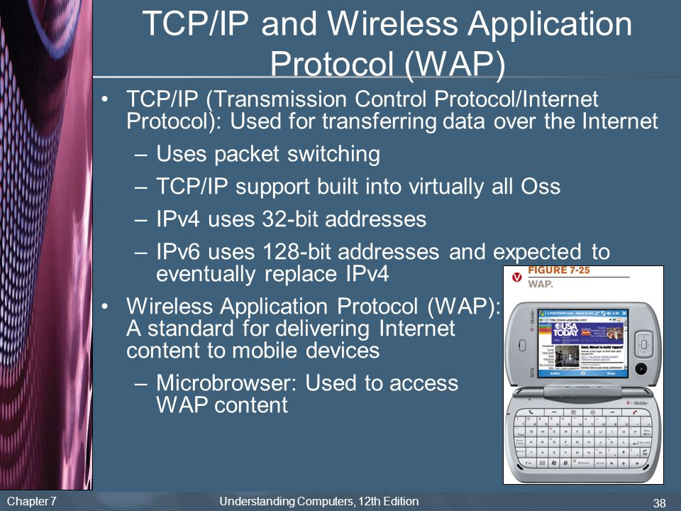 TCP/IP and Wireless Application Protocol (WAP)