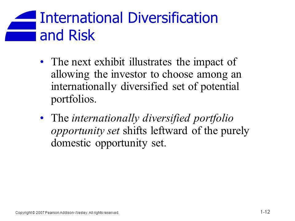 International Diversification and Risk