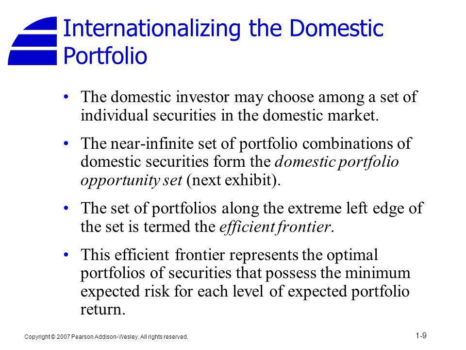 Internationalizing the Domestic Portfolio