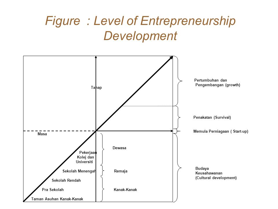 Figure : Level of Entrepreneurship Development