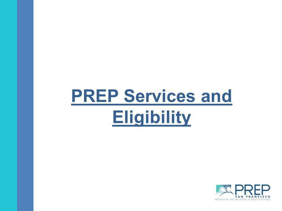 PREP Services and Eligibility