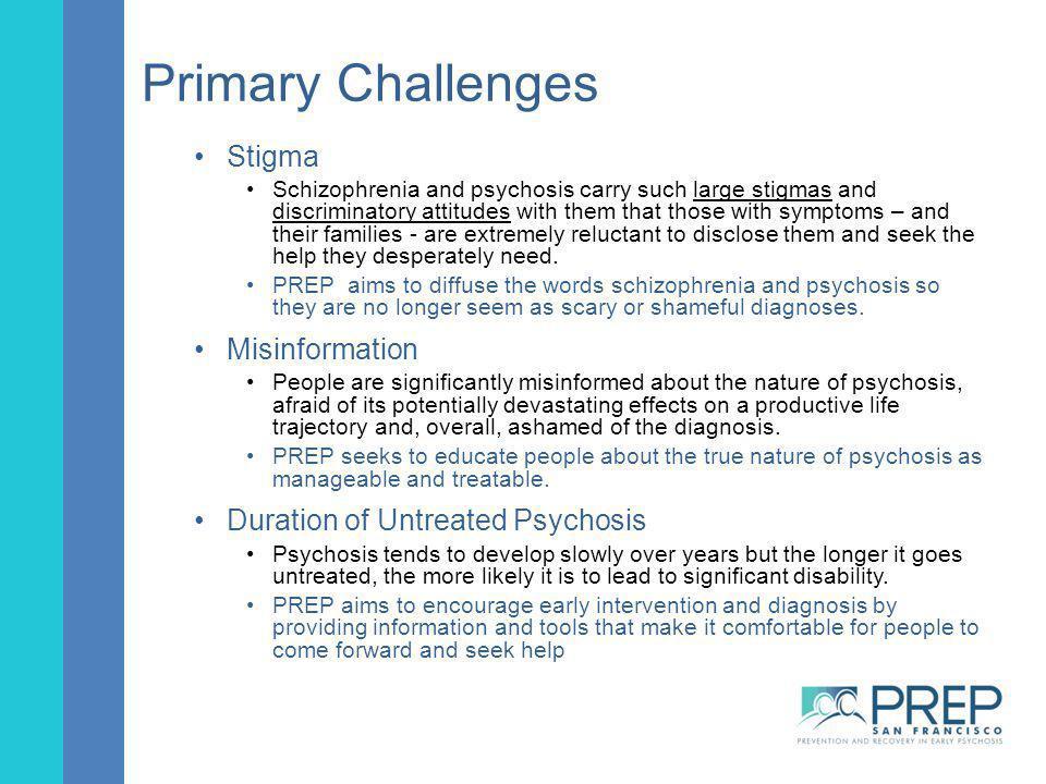Primary Challenges Stigma Misinformation