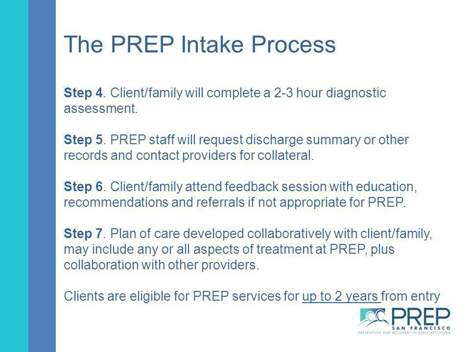 The PREP Intake Process