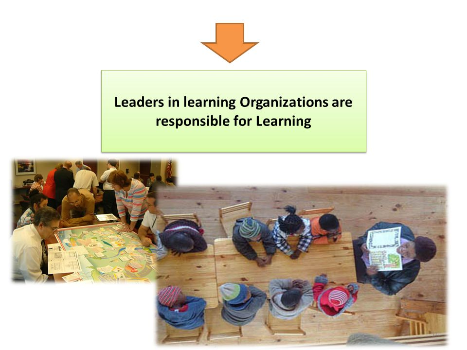 Leaders in learning Organizations are responsible for Learning
