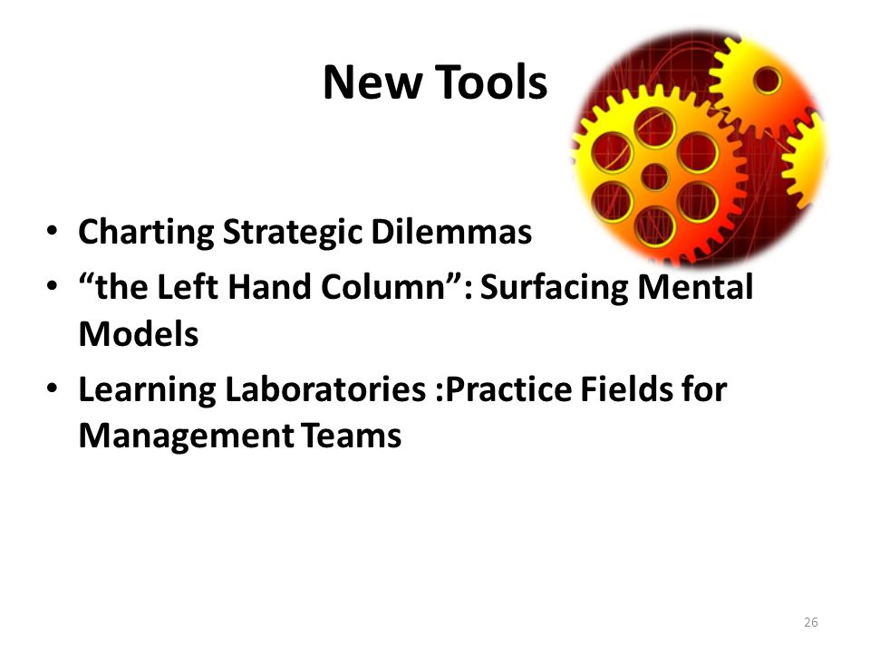 New Tools Charting Strategic Dilemmas