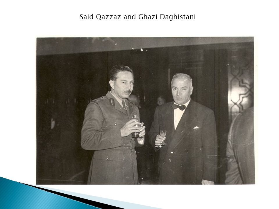 Said Qazzaz and Ghazi Daghistani