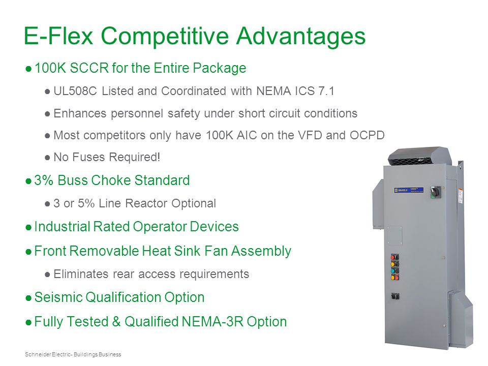 E-Flex Competitive Advantages