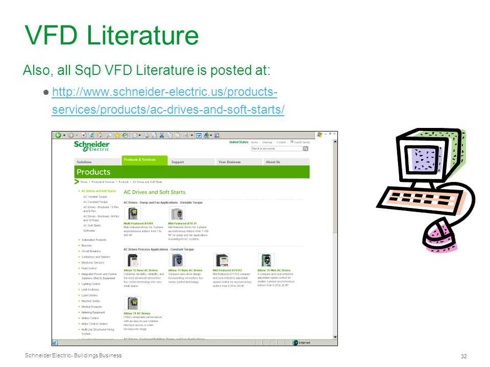 VFD Literature Also, all SqD VFD Literature is posted at: