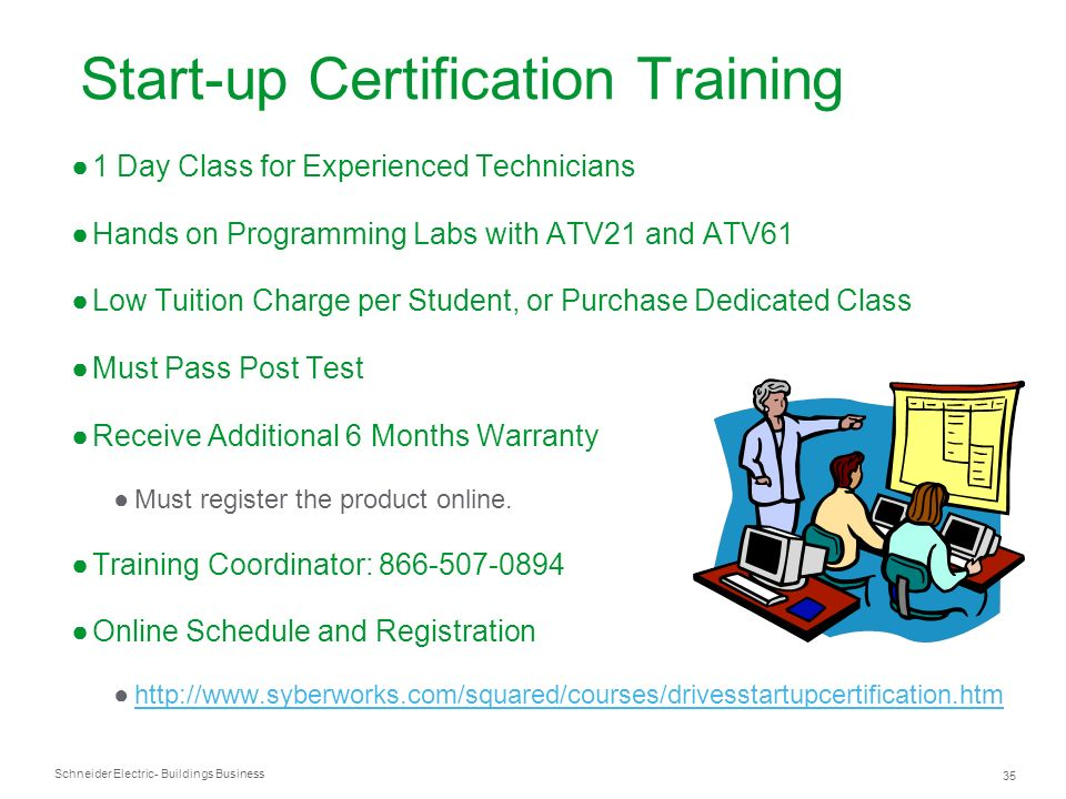Start-up Certification Training