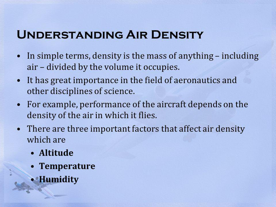 Understanding Air Density