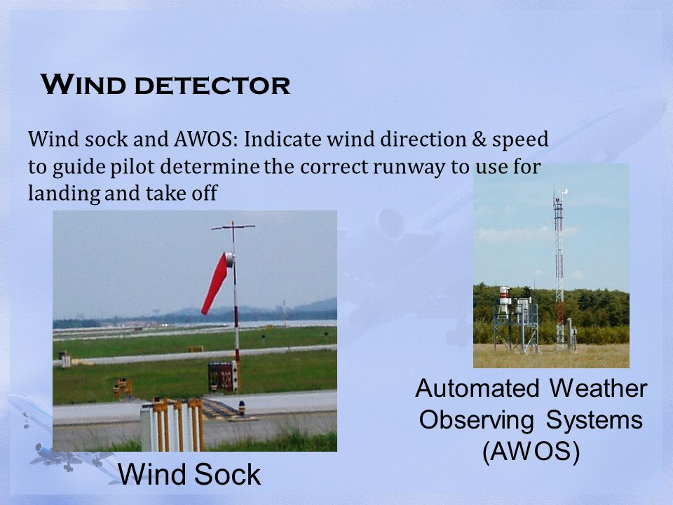 Automated Weather Observing Systems (AWOS)