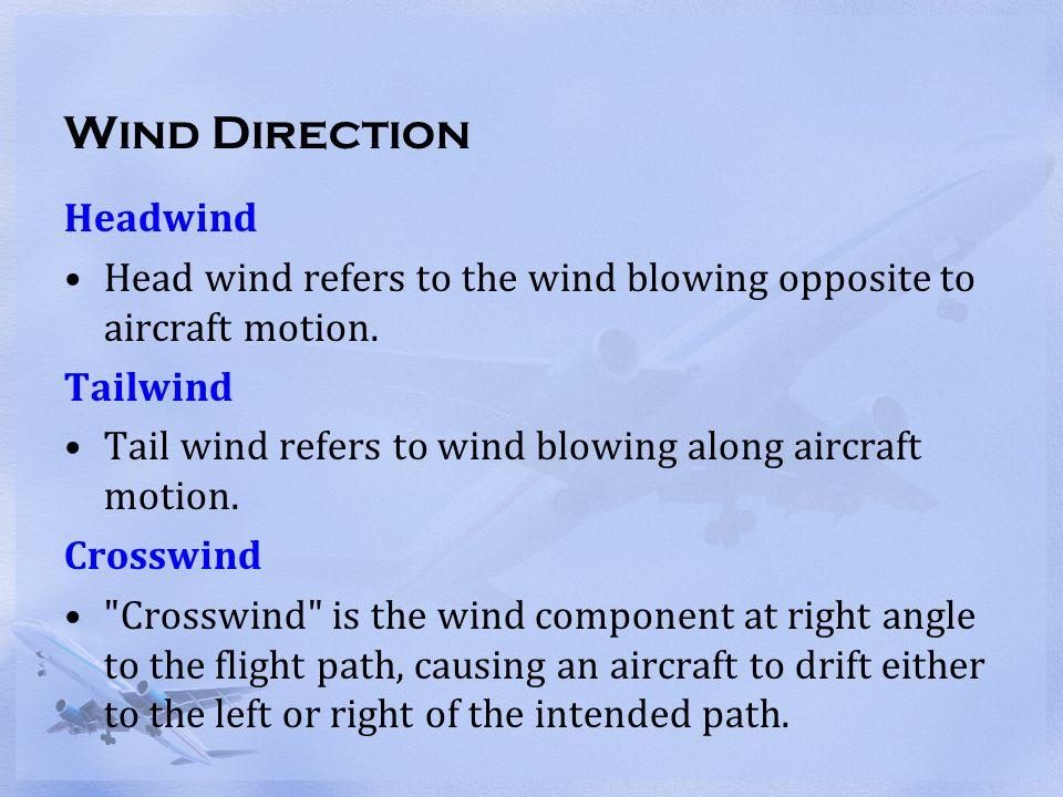 Wind Direction Headwind