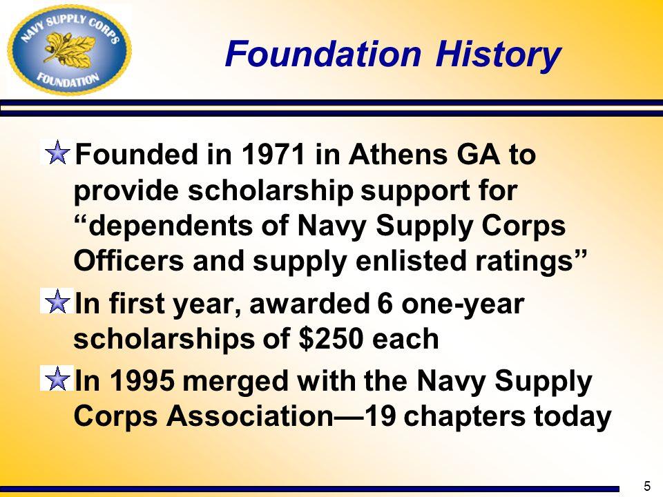 Foundation History