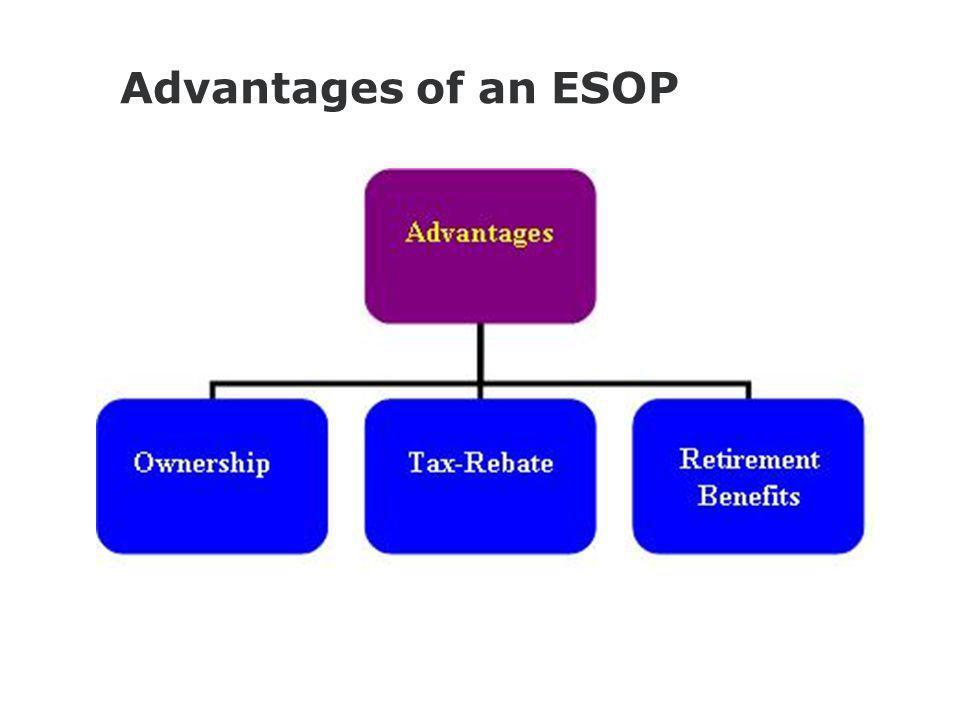 Advantages of an ESOP