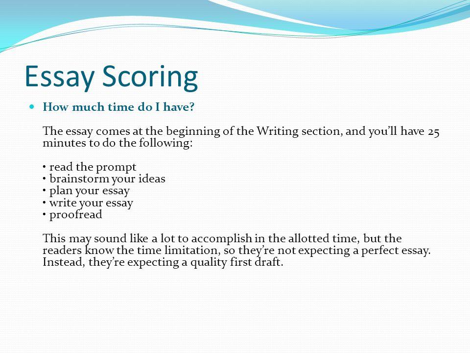 sat essay question scoring