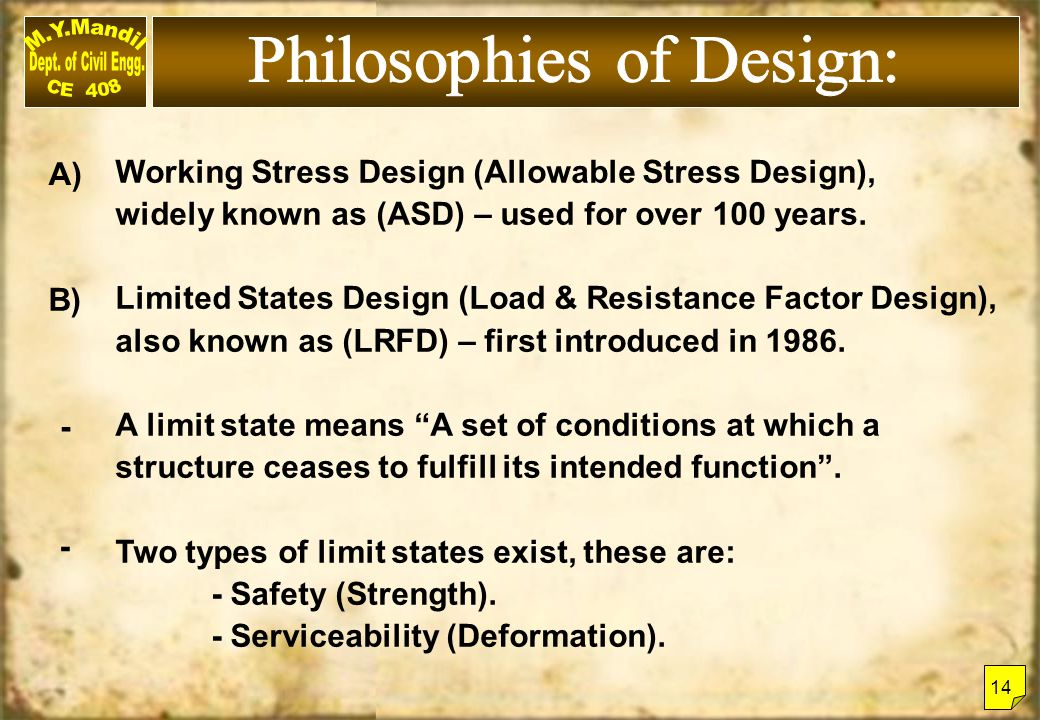 Philosophies of Design: