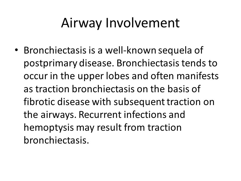 Airway Involvement