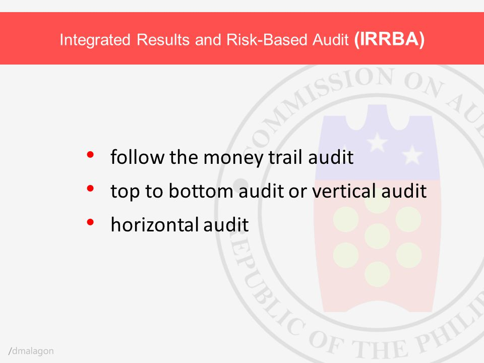 Integrated Results and Risk-Based Audit (IRRBA)