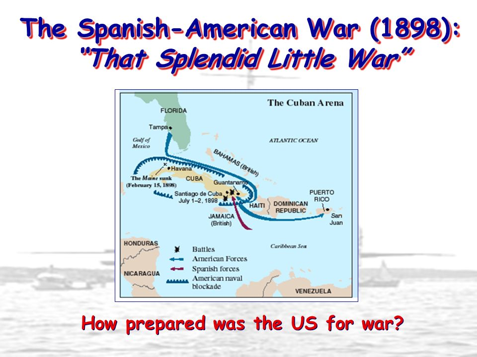 The Spanish-American War (1898): That Splendid Little War
