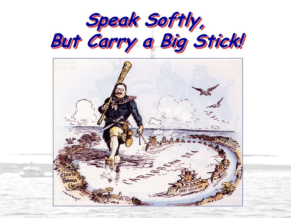 Speak Softly, But Carry a Big Stick!