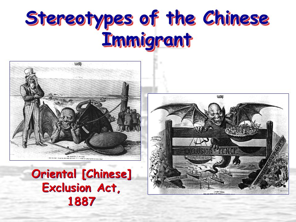 Stereotypes of the Chinese Immigrant