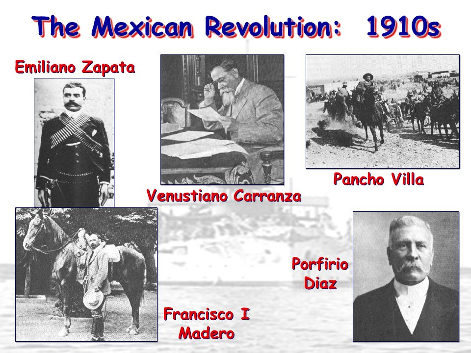 The Mexican Revolution: 1910s