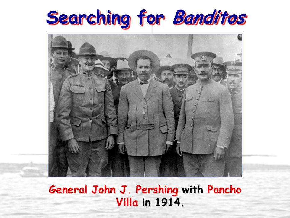 Searching for Banditos