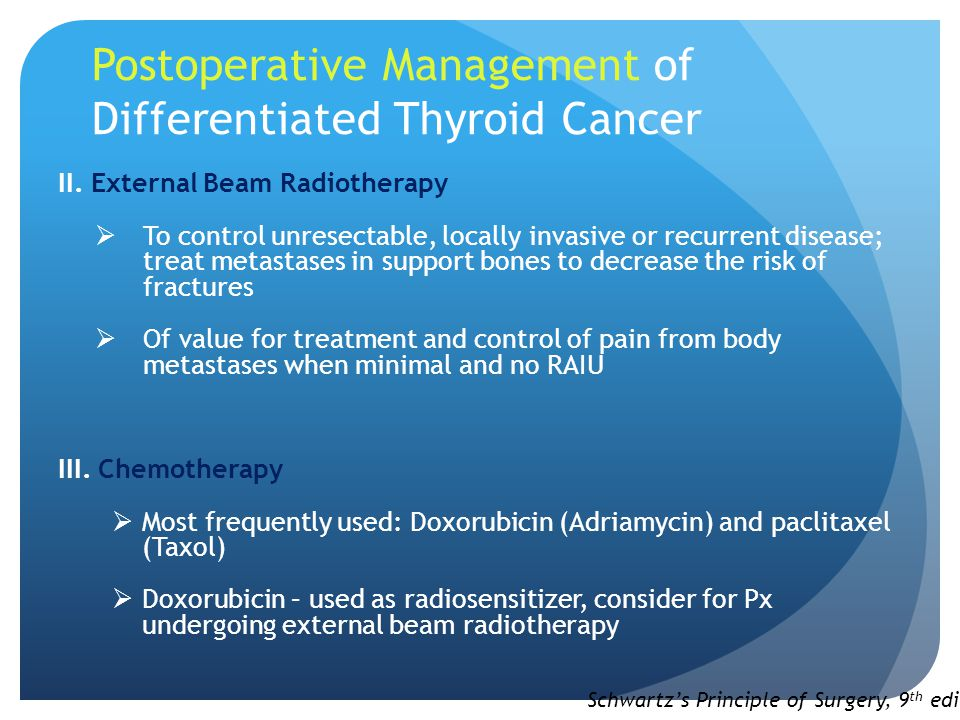 Postoperative Management of Differentiated Thyroid Cancer