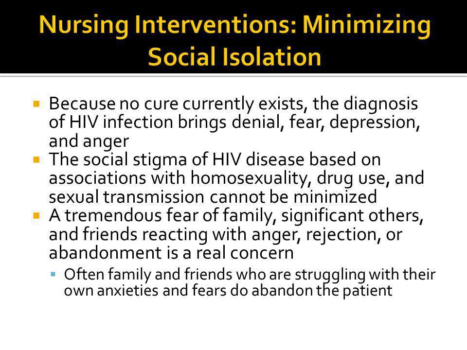 Nursing Interventions: Minimizing Social Isolation