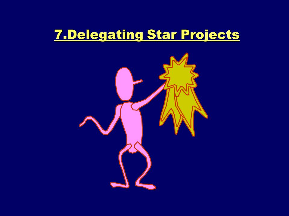 7.Delegating Star Projects