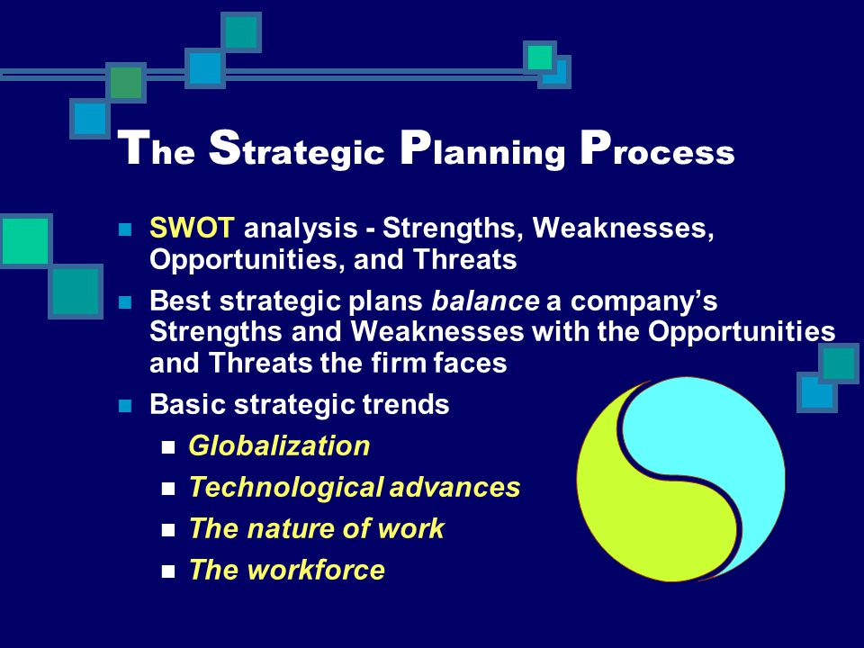 The Strategic Planning Process